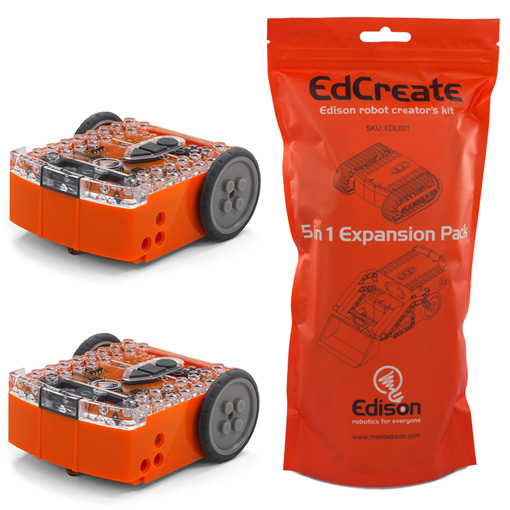 Edison Robots and EdCreate 5in1 Expansion Pack