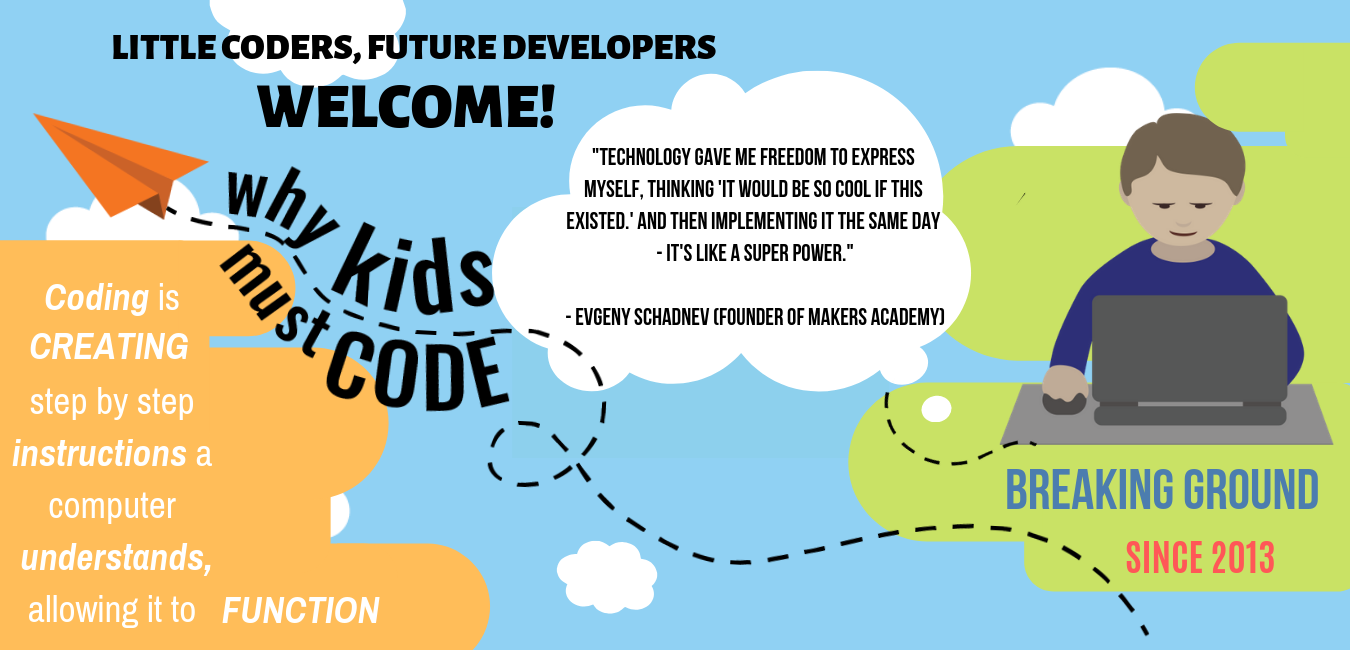 Welcome kids coding