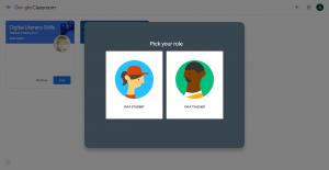 SchoolCoding Google Classroom Pick a Role