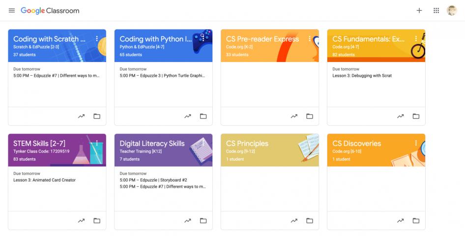 SchoolNetwork Google Classroom