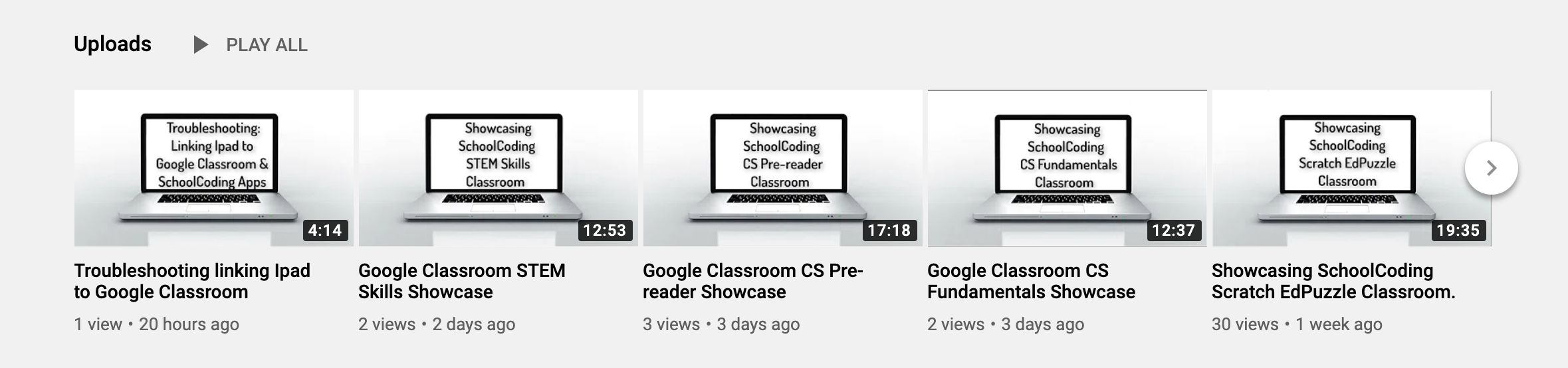 SchoolCoding - Visit our You Tube Channel