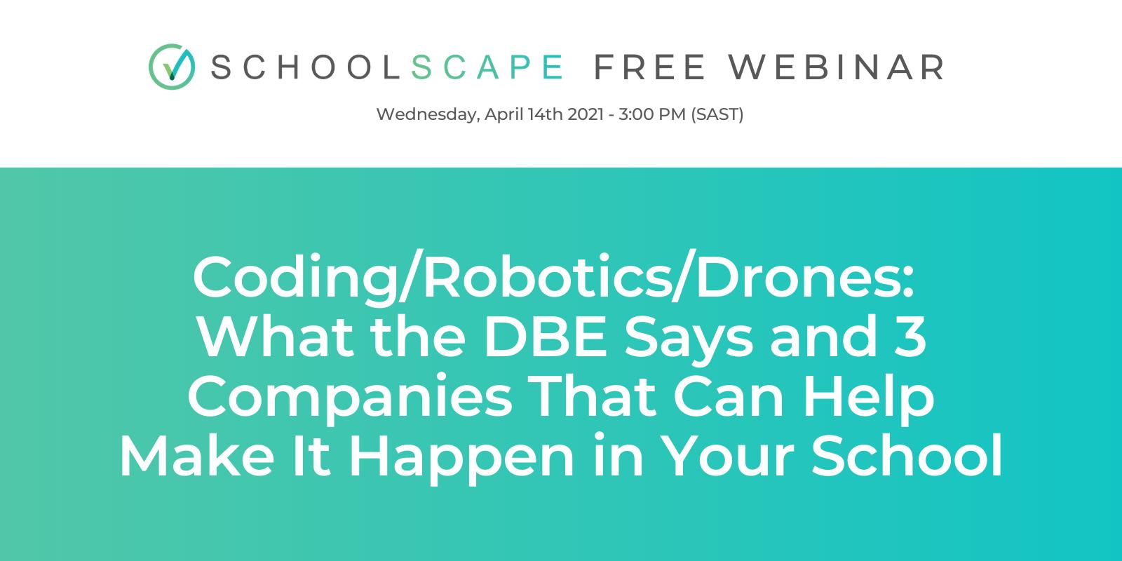 Webinar: Coding/Robotics/Drones
